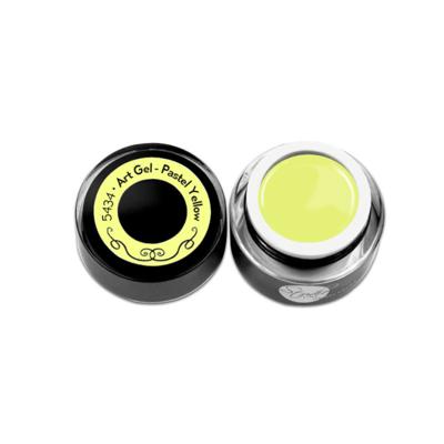 Art gel 5 ml - > Pastel Yellow